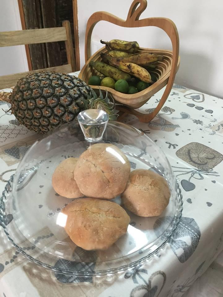 Colazioni in casa nell'isola di principe a sao tomè e principe