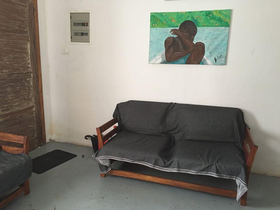 Casa confortevole in affitto nell'isola di principe a sao tomè