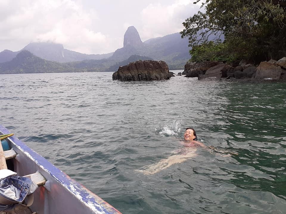 Offerta vacanza in Africa occidentale nell'isola di Principe Sao tomè con  fondali incontaminati