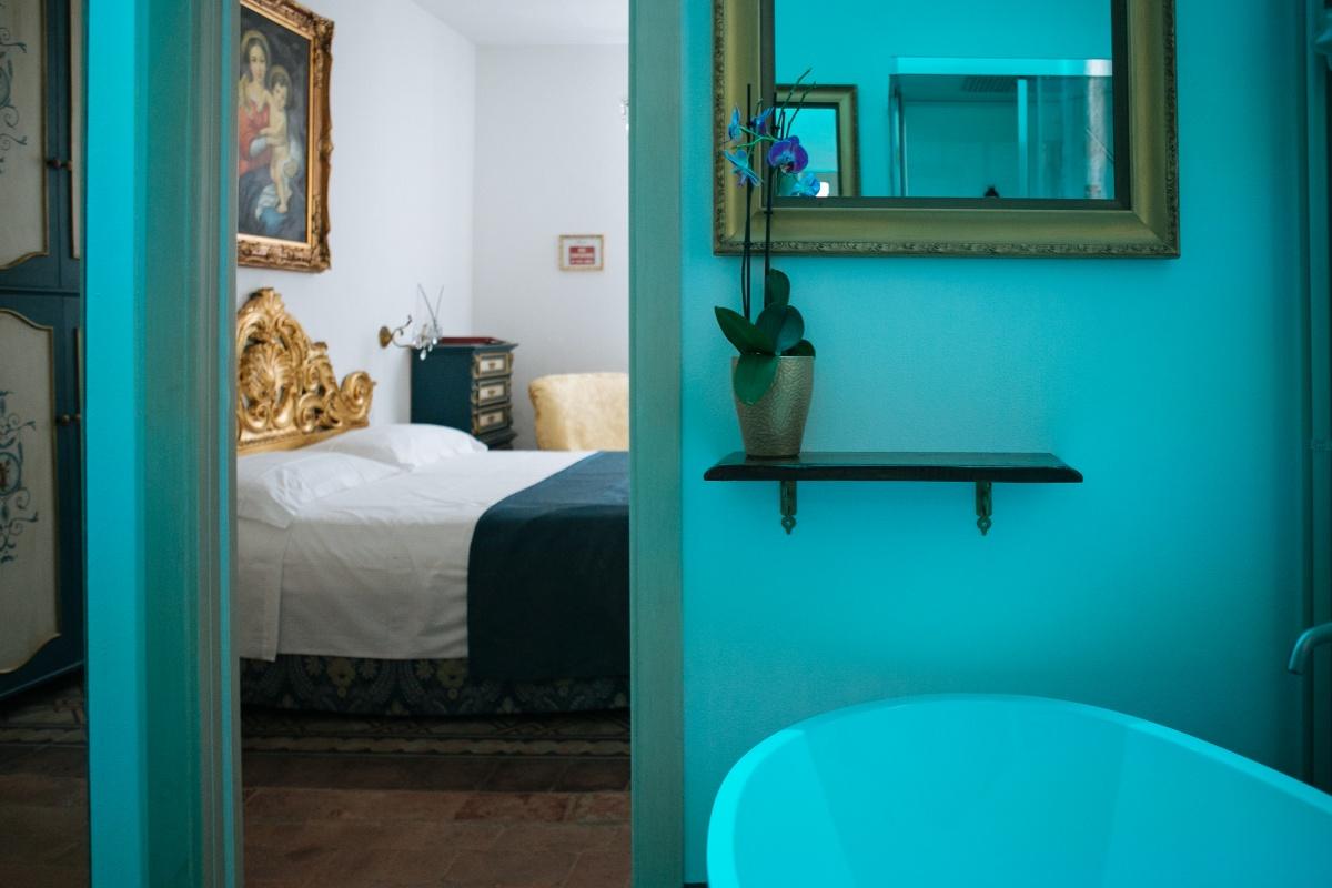 eleganti camere e suite in B&B di charme al mare in toscana