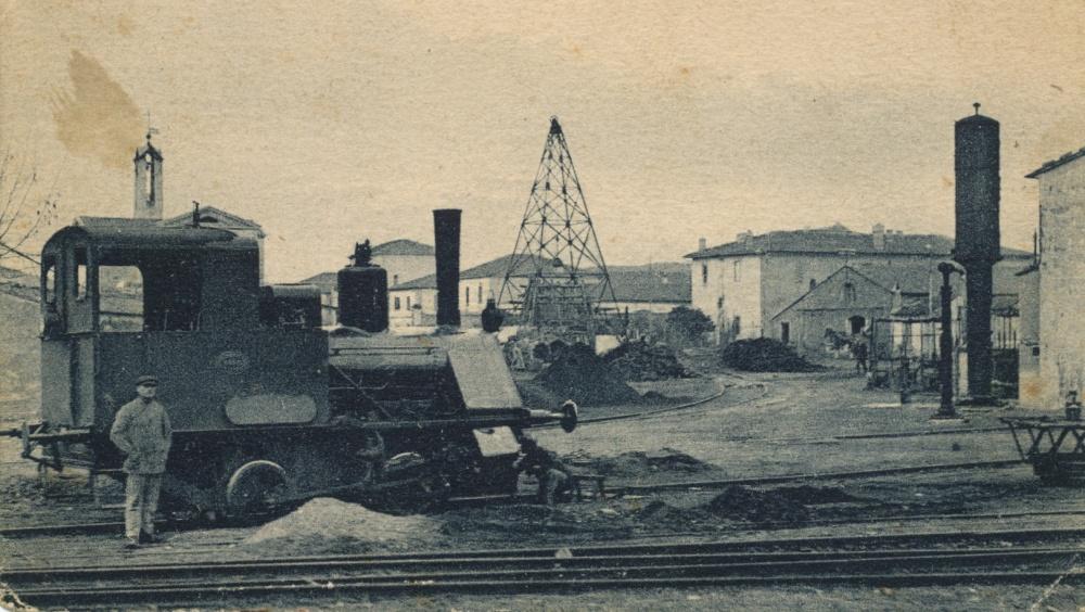 follonica foto storica stabilimento ilva