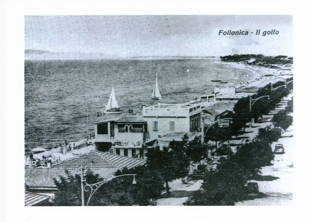 foto storica del golfo di follonica