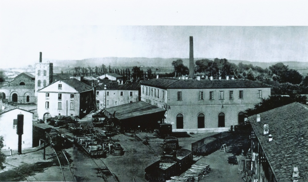 foto storica stabilimento ex ilva follonica