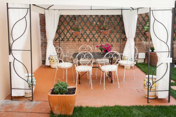Giardino privato attrezzato