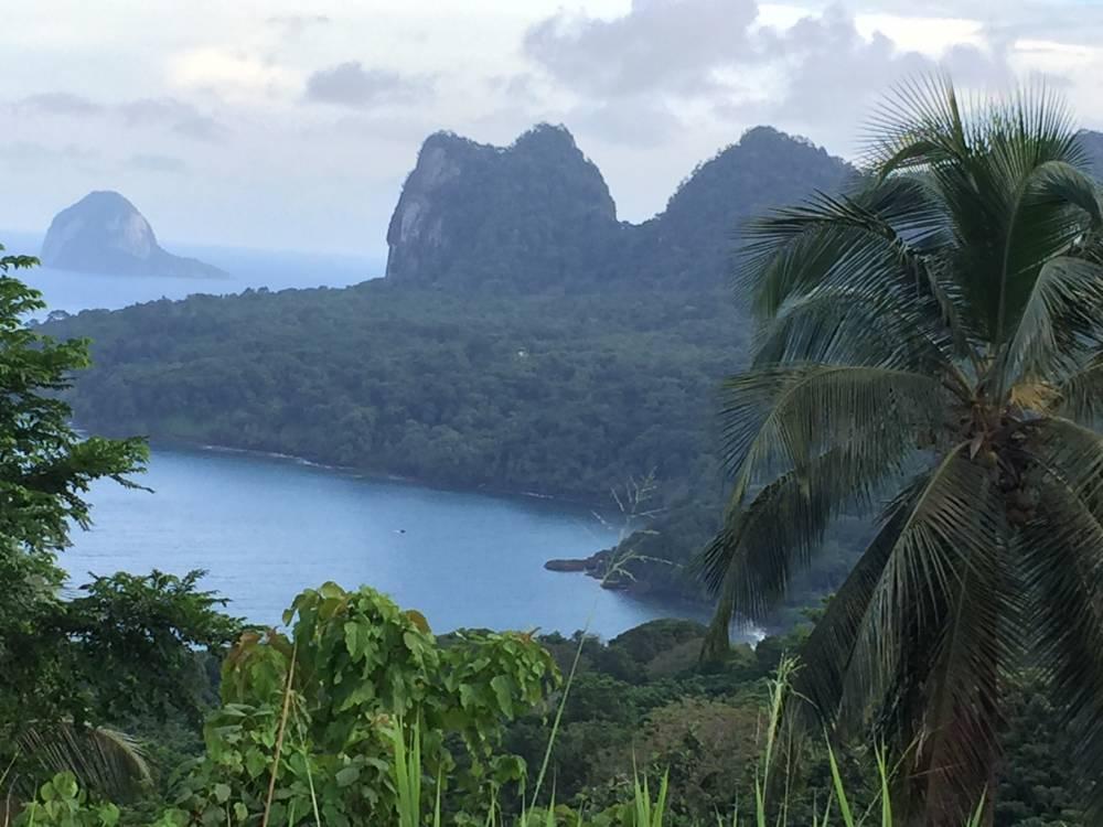affittasi appartamento con giardino nell'isola di principe in oceano atlantico