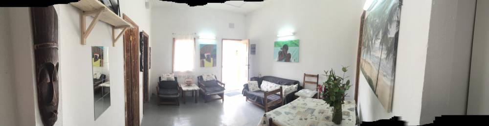 Casa in affitto con giardino e due camere da letto nell'isola di principe sao tomè