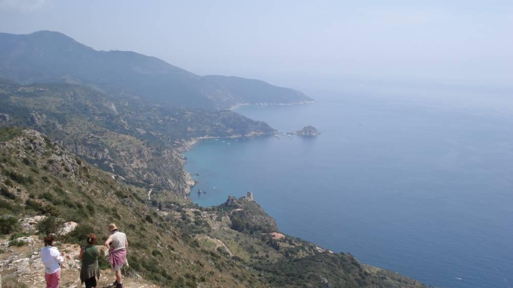 Panorama dalle colline di Follinica
