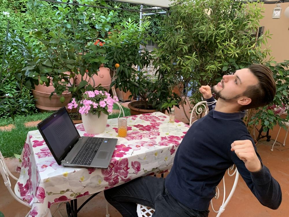 Vacanza in smart working nel giardino della Domus Socolatae charming B&B e appartamenti in maremma
