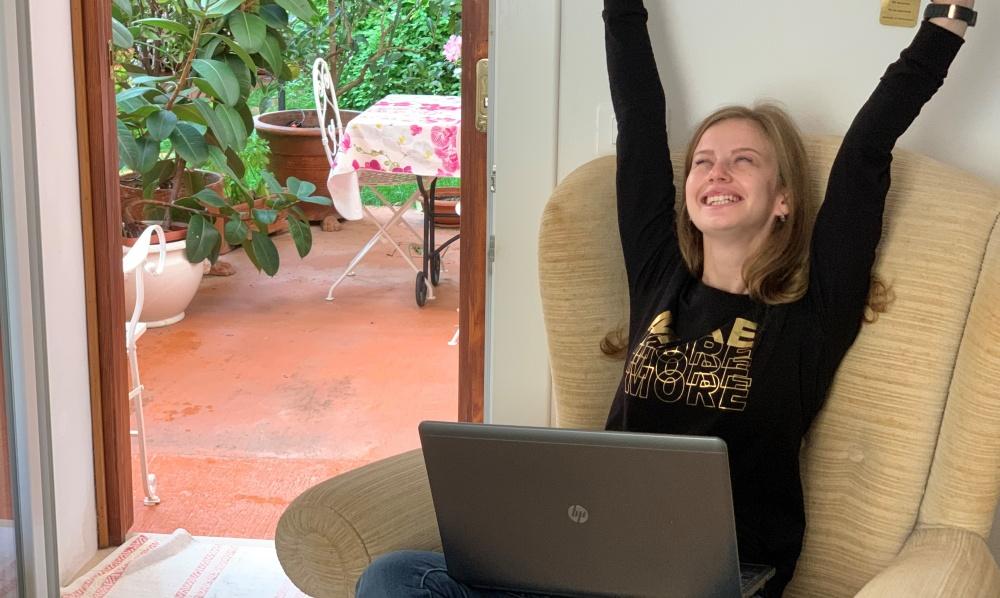 vacanza lavoro in Maremma Toscana in camera B&B con piccola zona cottura attigua al giardino