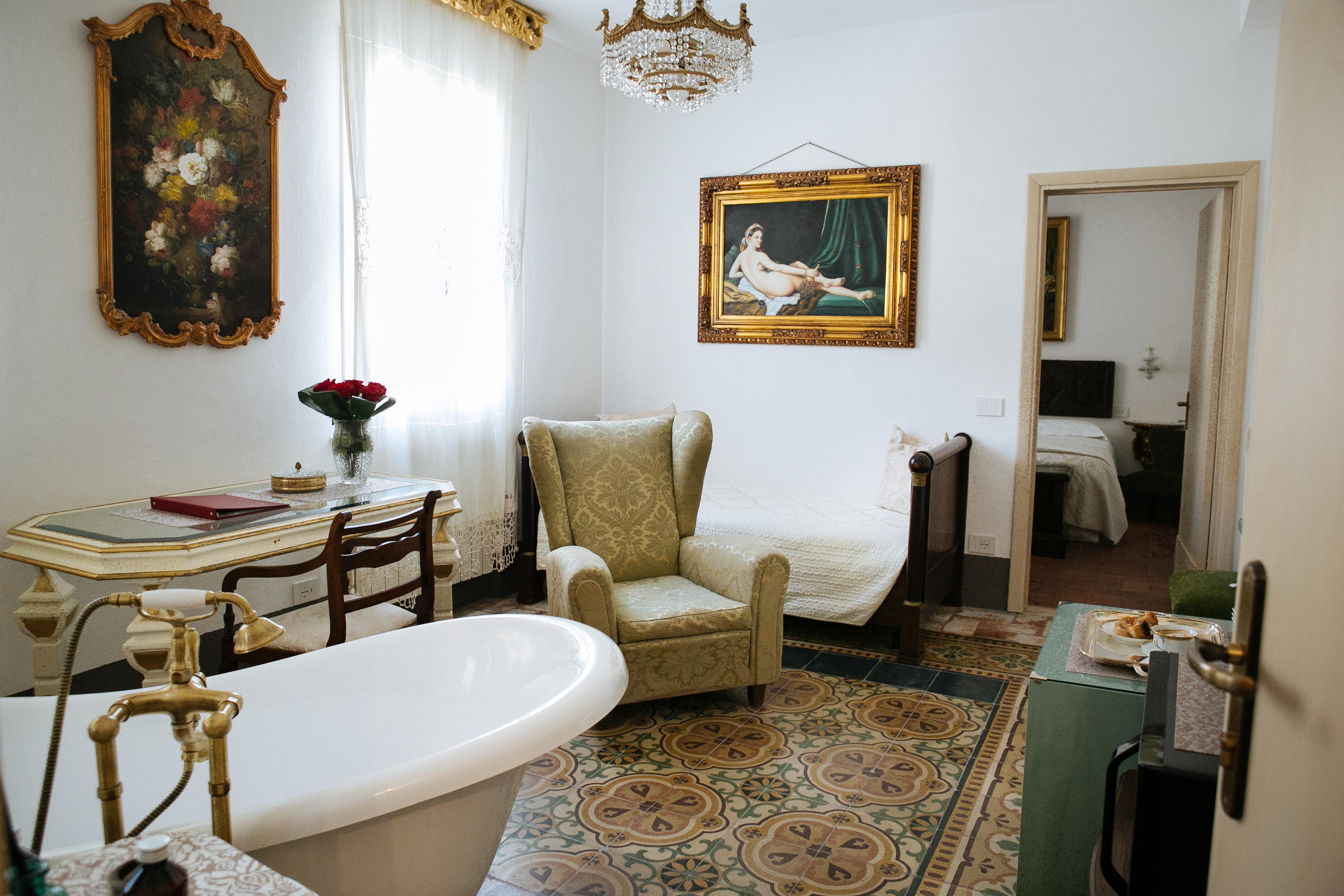 Elegante suite al mare in toscana attrezzata con macchina del caffe e microonde